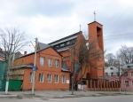 Здание новой католической церкви